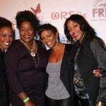 Shanola Hampton, Loretta Devine, Vanessa Bell Calloway, Robi Reed — Stock Photo