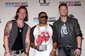 Tyler Hubbard, Nelly, Brian Kelly — Stock Photo