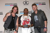 Tyler Hubbard, Nelly, Brian Kelly — Stock Photo