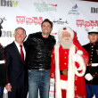 Daniel Goddard, Santa Claus, Marines — Stock Photo