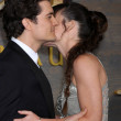 Orlando Bloom, Evangeline Lilly — Stock Photo