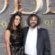 Katie Jackson, Peter Jackson — Stock Photo