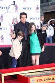Quinlin Dempsey Stiller, Ben Stiller, Ella Olivia Stiller — Stok fotoğraf