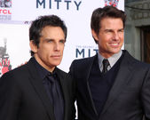 Tom Cruise, Ben Stiller — Stock Photo