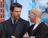 Tom Cruise, Jeffrey Katzenberg — Stock Photo