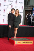 Ben Stiller, Christine Taylor — Stock Photo