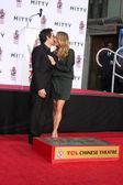 Ben Stiller, Christine Taylor — Foto de Stock