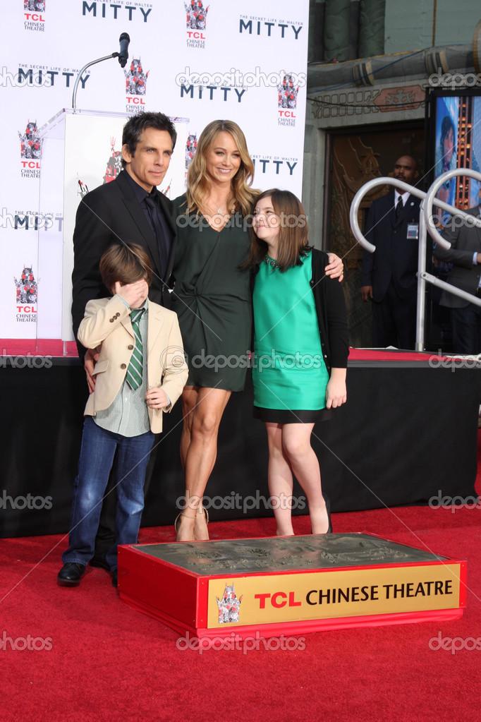 Quinlin Dempsey Stiller, Ben Stiller, Christine Taylor ...