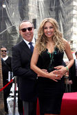 Thalia, Tommy Mottola — Stock Photo