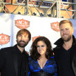 Dave Haywood, Hillary Scott, Charles Kelley (Lady Antebellum) — Stock Photo