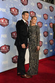 Eddie Cibrian, LeAnn Rimes — Stock Photo