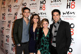 Blake Berris, Chrishell Stause, Kate Mansi, Galen Gering — Stock Photo