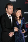 Ewan McGregor, Eve Mavrakis — Stock Photo