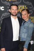 Tobey Maguire, Jennifer Meyer — Stock Photo