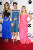 Kaley Cuoco, Mayim Bialik, Melissa Rauch — Stock Photo