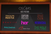 Best Picture Nominees — Stock Photo