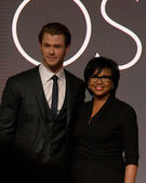 Chris Hemsworth, Cheryl Boone Isaacs — Foto Stock