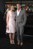 Christine Baumgartner, Kevin Costner — Foto Stock