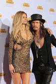 Marisa Miller, Steven Tyler — Stock Photo