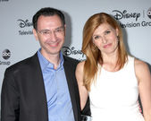 Paul Lee, Connie Britton — Stock Photo
