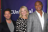 Nate Berkus, Monica Pedersen, Eddie George — Stock Photo