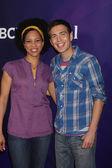 Dennisha Pratt, Tim Kubart — Stock Photo