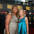 Queen Latifah & Jennie Garth — Stock Photo
