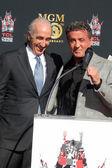 Gary Barber, Sylvester Stallone — Stock Photo