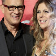Rita Wilson, Tom Hanks — Stock Photo