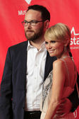 Kristin Chenoweth, Dana Brunetti — Stock Photo