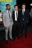 Michael B Jordan, Zac Efron, Miles Teller — Stock Photo
