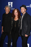 Kris Kristofferson, Bonnie Raitt, Gavin DeGraw — Stock Photo