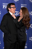 David O. Russell, Melissa Leo — Stock Photo