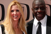 Ann Coulter & Jimmy Walker — Stock Photo
