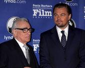 Martin Scorsese, Leonardo DiCpario — 图库照片