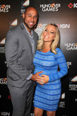 Hank Baskett, Kendra Wilkinson — Stock fotografie