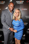 Hank Baskett, Kendra Wilkinson — Stock Photo