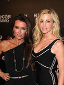 Kyle Richards, Camille Grammer — Stock Photo