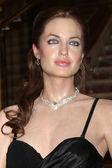Angelina jolie vaxdocka — Stockfoto