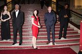 Angelina Jolie, Morgan Freeman, Sandra Bullock, Leonardo DiCaprio, Denzel Washington — Stock Photo