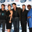 Постер, плакат: Keith Urban Jennifer Lopez Harry Connick Jr Ryan Seacrest Randy Jackson