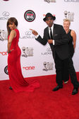 Elise Neal, Arsenio Hall — Stock Photo