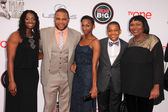 Anthony Anderson, family — Stock Photo