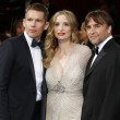 Ethan Hawke, Julie Delpy, Richard Linklater — Stock fotografie