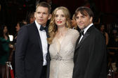 Ethan Hawke, Julie Delpy, Richard Linklater — Stock Photo