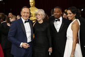 Kevin Spacey, Glenn Close, Jamie Foxx, Corinne Bishop — Stock Photo