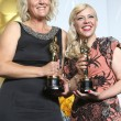 Постер, плакат: Production designers Beverley Dunn L and Catherine Martin winners of Best Achievement in Production Design