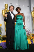 Paolo Sorrentino, Viola Davis — Stock Photo