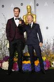 Chris Hemsworth, Glenn Freemantle — Stock Photo