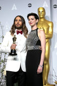 Jared Leto, Anne Hathaway — Stock Photo